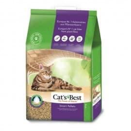 CAT'S BEST Smart Pellet (Древесн. комкующийся, гранулы, суперпоглощ. влаги) - для длинношерстн. кошек 20 л