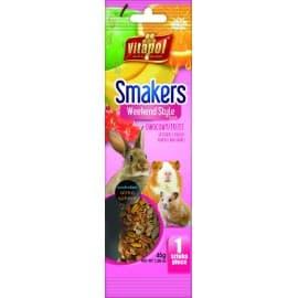 Vitapol Smakers® с фруктами для грызунов и кролика в пакете WEEKEND STYLE, 45 г