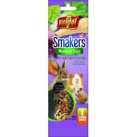 Vitapol Smakers® с овощами для грызунов и кролика в пакете WEEKEND STYLE, 45 г