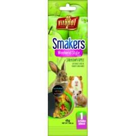 Vitapol Smakers® с яблоком для грызунов и кролика в пакете WEEKEND STYLE, 45 г