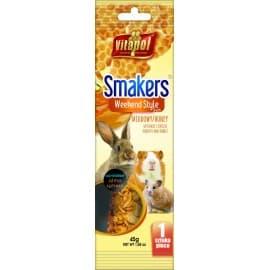 Vitapol Медовый Smakers® для грызунов и кролика в пакете WEEKEND STYLE, 45 г
