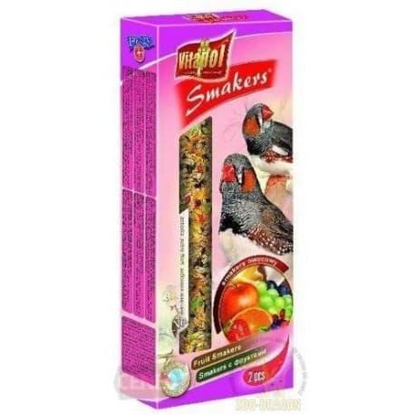 Vitapol Фруктовый Smakers® для зебровой амадины и экзотических птиц, 90 г