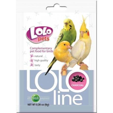 LoloPets Lololine - уголь для птиц, 120 г