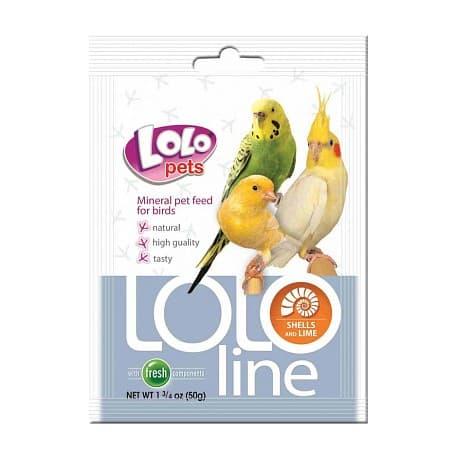 LoloPets Lololine - ракушки и кальций, 120 г