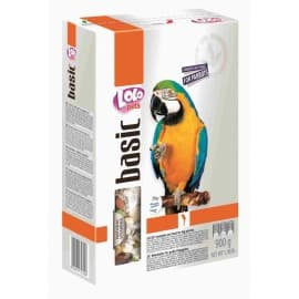 LoloPets Полнорационный корм для крупных попугаев, 800 г