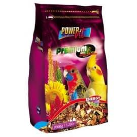 Power Vit Полнорационный корм для средних попугаев в пакете, 500гр.
