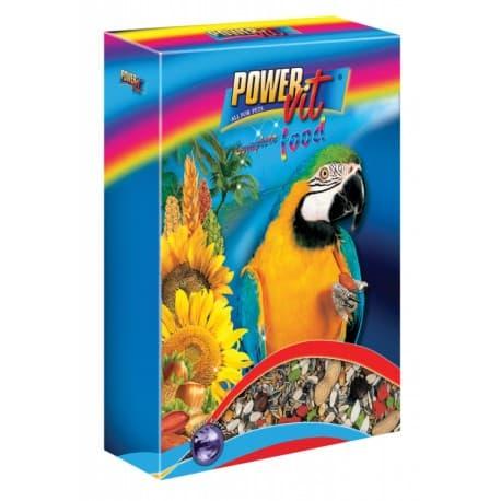 Power Vit Полнорационный корм для крупных попугаев 800 г, 800гр.