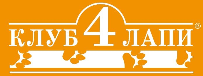 логотип корма кулб 4 лапы